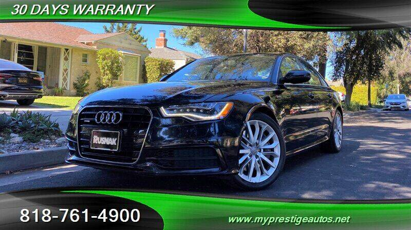 2012 Audi A6 for sale at Prestige Auto Sports Inc in North Hollywood CA