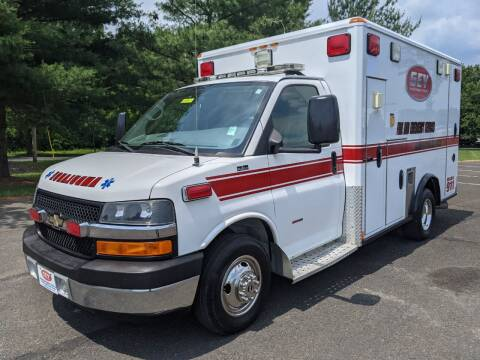 2009 Chevrolet G3500 Wheeled Coach Type III Ambulance for sale at Global Emergency Vehicles Inc in Levittown PA