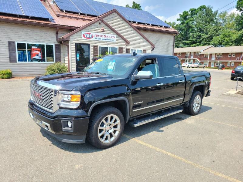 2015 GMC Sierra 1500 for sale at V & F Auto Sales in Agawam MA