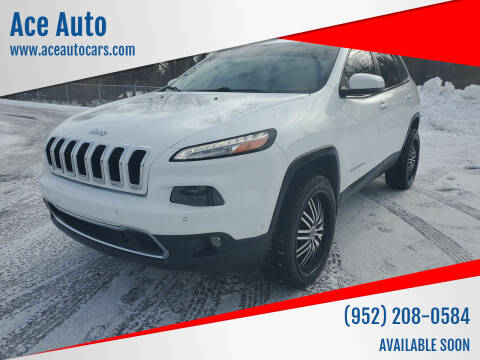 2014 Jeep Cherokee for sale at Ace Auto in Jordan MN
