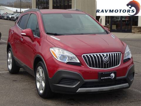2016 Buick Encore for sale at RAVMOTORS 2 in Crystal MN