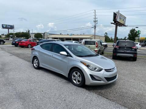 2015 Hyundai Elantra for sale at Lucky Motors in Panama City FL