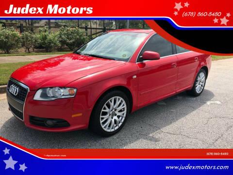 2008 Audi A4 for sale at Judex Motors in Loganville GA