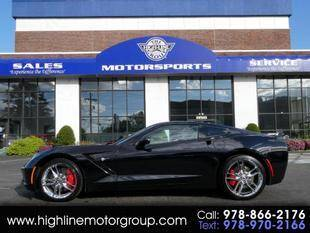 2019 Chevrolet Corvette for sale at Highline Group Motorsports in Lowell MA
