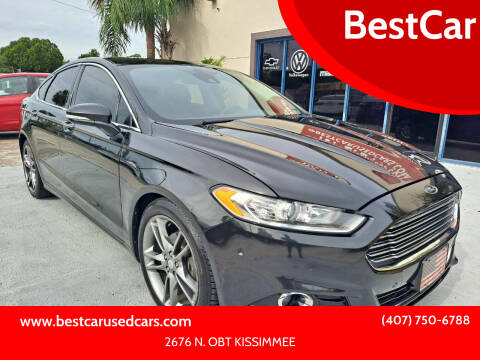 2013 Ford Fusion for sale at BestCar in Kissimmee FL