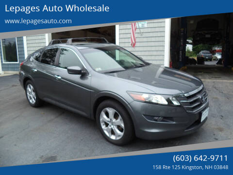 2010 Honda Accord Crosstour for sale at Lepages Auto Wholesale in Kingston NH