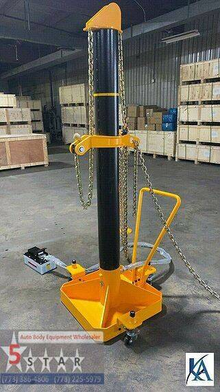 2020 10 TON Portable   Auto Body Pot puller for sale at Kamran Auto Exchange Inc in Kenosha WI