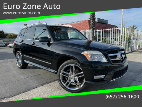 2010 Mercedes-Benz GLK for sale at Euro Zone Auto in Stanton CA