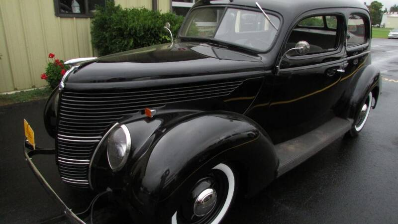 1938 Ford 2 door sedan for sale at Toybox Rides in Black River Falls WI