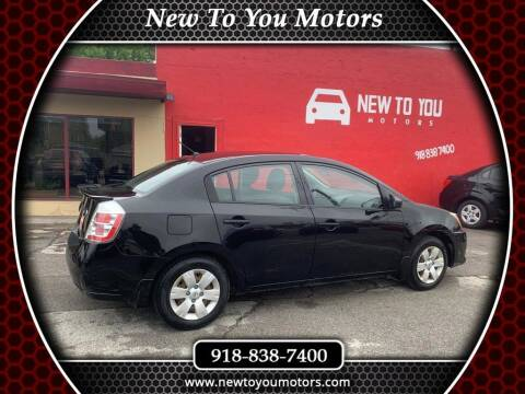 2012 Nissan Sentra for sale at New To You Motors in Tulsa OK