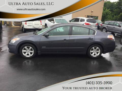 2009 Nissan Altima Hybrid for sale at Ultra Auto Sales, LLC in Cumberland RI