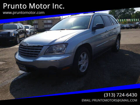 2005 Chrysler Pacifica for sale at Prunto Motor Inc. in Dearborn MI
