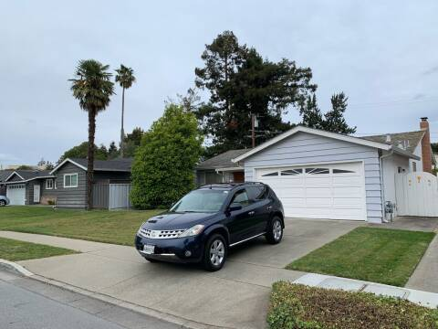 2007 Nissan Murano for sale at Blue Eagle Motors in Fremont CA