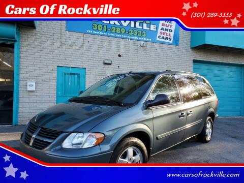 2006 Dodge Grand Caravan for sale at Cars Of Rockville in Rockville MD