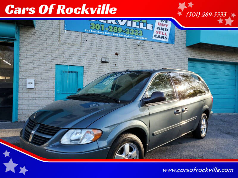 2006 Dodge Grand Caravan for sale at Cars Of Rockville in Rockville MD