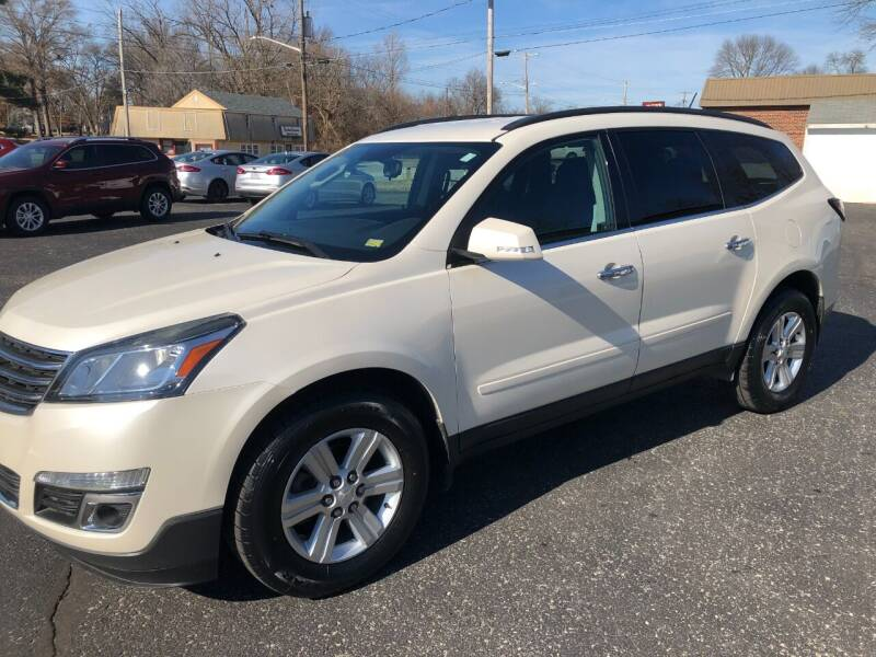 2014 Chevrolet Traverse for sale at Teds Auto Inc in Marshall MO
