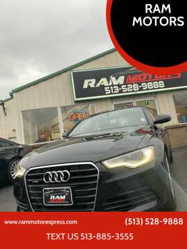 2013 Audi A6 for sale at RAM MOTORS in Cincinnati OH