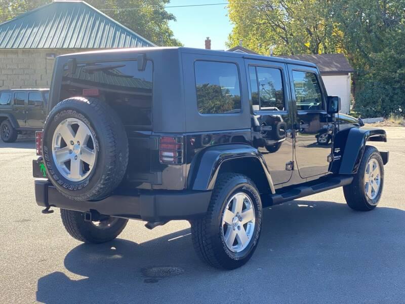 2009 Jeep Wrangler Unlimited for sale at Island Auto Off-Road & Sport in Grand Island NE