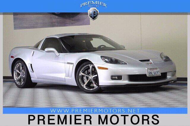 2011 Chevrolet Corvette for sale at Premier Motors in Hayward CA