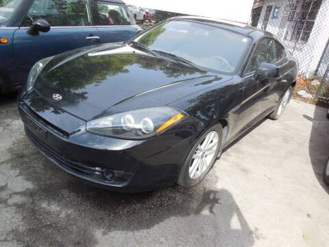 2008 Hyundai Tiburon for sale at FINANCIAL CLAIMS & SERVICING INC in Hollywood FL