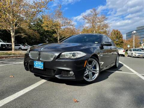 2013 BMW 5 Series for sale at Crown Auto Group in Falls Church VA