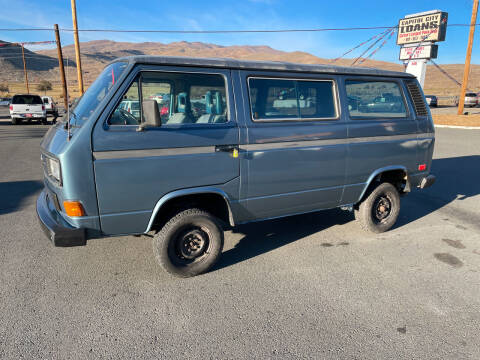 1986 Volkswagen Vanagon for sale at Super Sport Motors LLC in Carson City NV