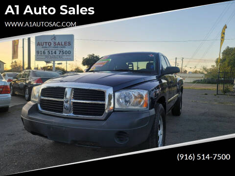 2006 Dodge Dakota for sale at A1 Auto Sales in Sacramento CA