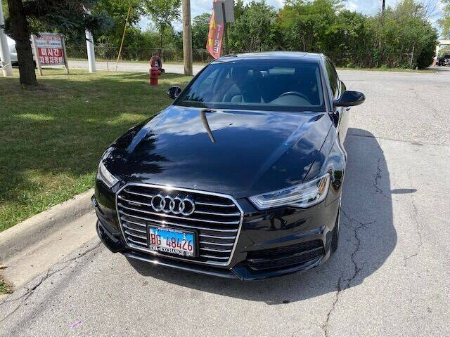 2017 Audi A6 for sale at NORTH CHICAGO MOTORS INC in North Chicago IL