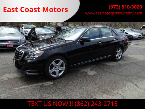 2015 Mercedes-Benz E-Class for sale at East Coast Motors in Lake Hopatcong NJ