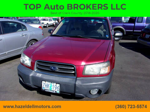 2003 Subaru Forester for sale at TOP Auto BROKERS LLC in Vancouver WA
