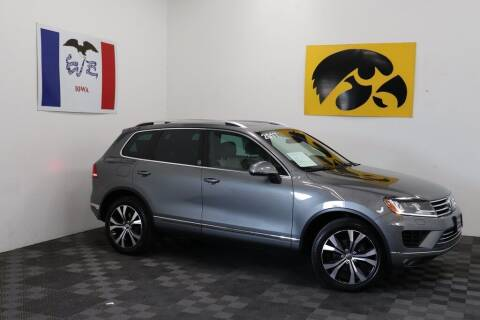2017 Volkswagen Touareg for sale at Carousel Auto Group in Iowa City IA