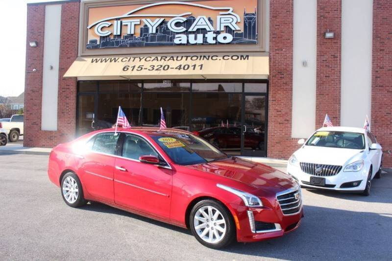 2015 Cadillac CTS for sale at CITY CAR AUTO INC in Nashville TN