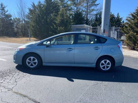 2013 Toyota Prius for sale at MEEK MOTORS in North Chesterfield VA