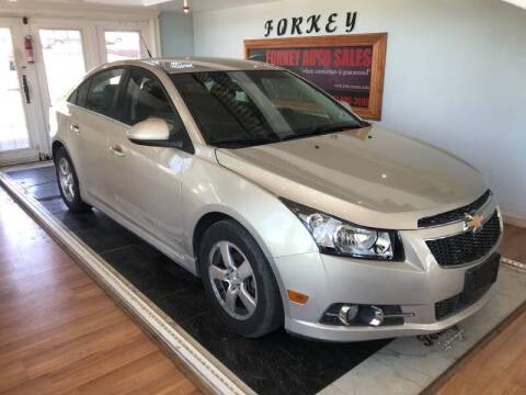 2011 Chevrolet Cruze for sale at Forkey Auto & Trailer Sales in La Fargeville NY