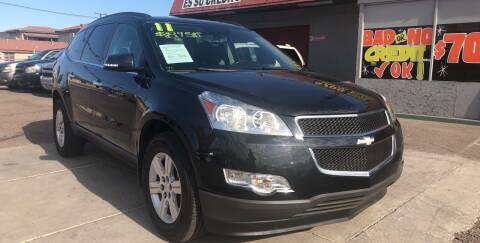 2011 Chevrolet Traverse for sale at Sunday Car Company LLC in Phoenix AZ