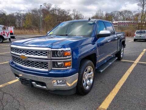 2014 Chevrolet Silverado 1500 for sale at Washington Street Auto Sales in Canton MA