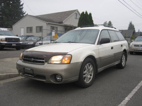 2002 Subaru Outback for sale at All About Cars in Marysville-Washington State WA