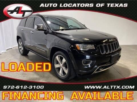 2015 Jeep Grand Cherokee for sale at AUTO LOCATORS OF TEXAS in Plano TX