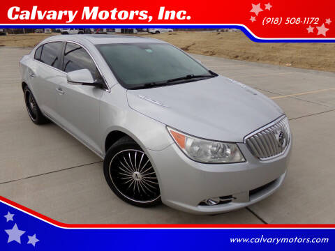2010 Buick LaCrosse for sale at Calvary Motors, Inc. in Bixby OK