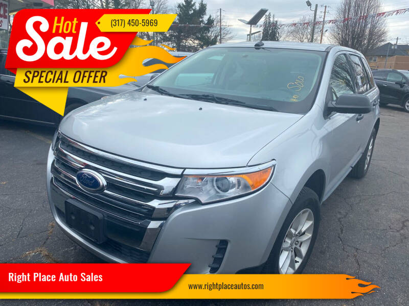 2014 Ford Edge for sale at Right Place Auto Sales in Indianapolis IN