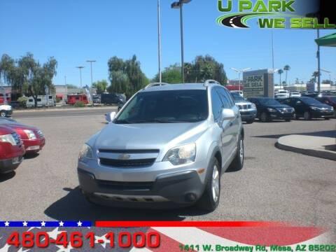 2012 Chevrolet Captiva Sport for sale at UPARK WE SELL AZ in Mesa AZ