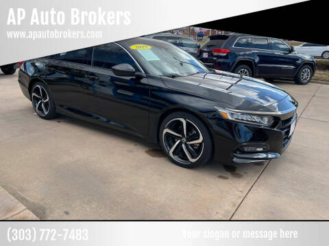 2019 Honda Accord for sale at AP Auto Brokers in Longmont CO