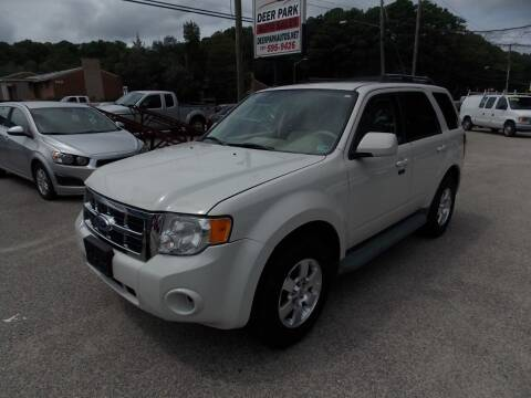 2011 Ford Escape for sale at Deer Park Auto Sales Corp in Newport News VA