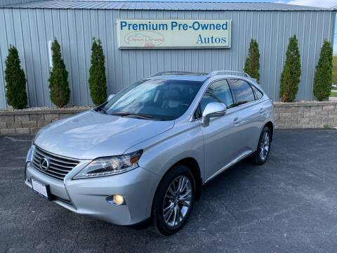 2013 Lexus RX 350 for sale at PREMIUM PRE-OWNED AUTOS in East Peoria IL