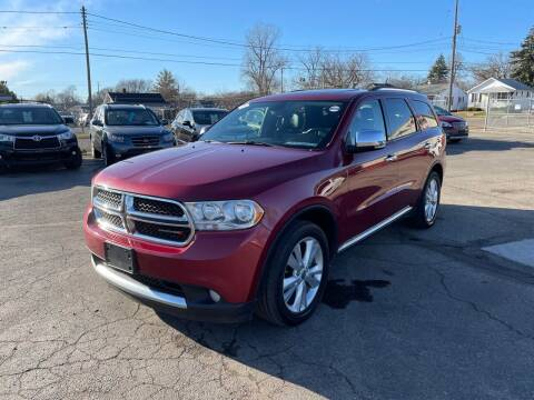 2013 Dodge Durango for sale at Dean's Auto Sales in Flint MI