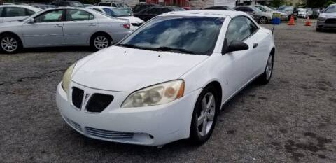 2007 Pontiac G6 for sale at DREWS AUTO SALES INTERNATIONAL BROKERAGE in Atlanta GA