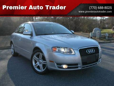 2007 Audi A4 for sale at Premier Auto Trader in Alpharetta GA