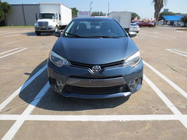2015 Toyota Corolla for sale at MOTORS OF TEXAS in Houston TX