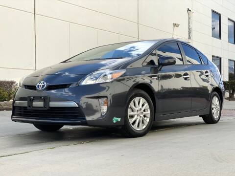 2012 Toyota Prius Plug-in Hybrid for sale at New City Auto - Retail Inventory in South El Monte CA