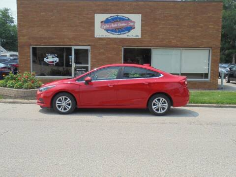 2017 Chevrolet Cruze for sale at Eyler Auto Center Inc. in Rushville IL